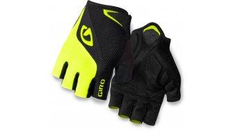 Giro Bravo Gel Handschuhe kurz black/highlight yellow Mod. 2017