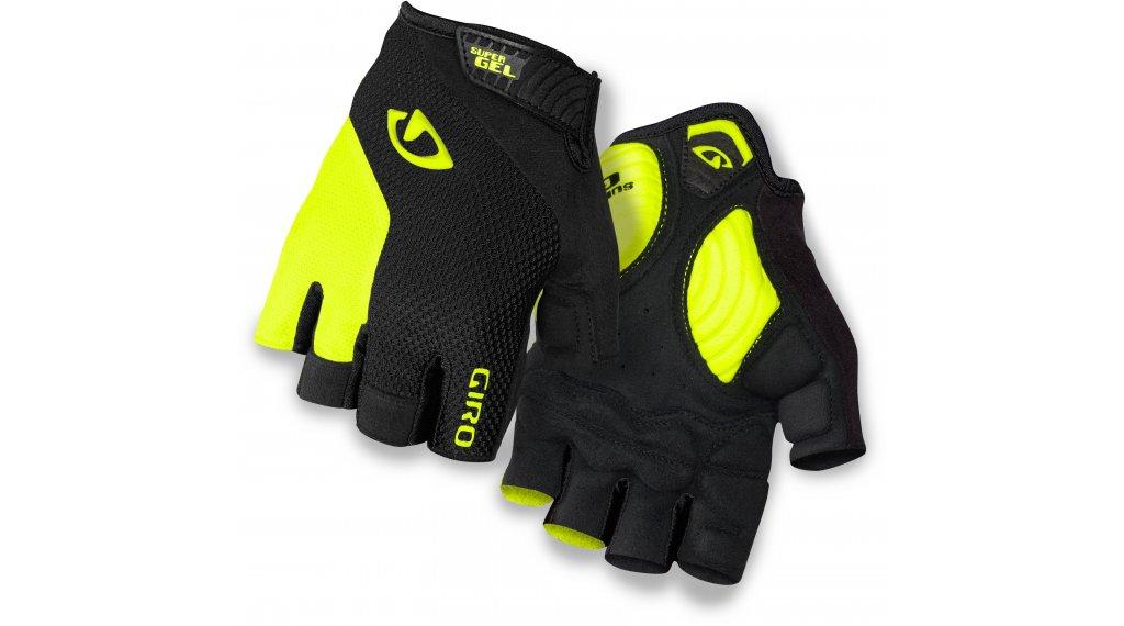 Giro Stradedure SG Handschuhe kurz Gr. S black/highlight yellow