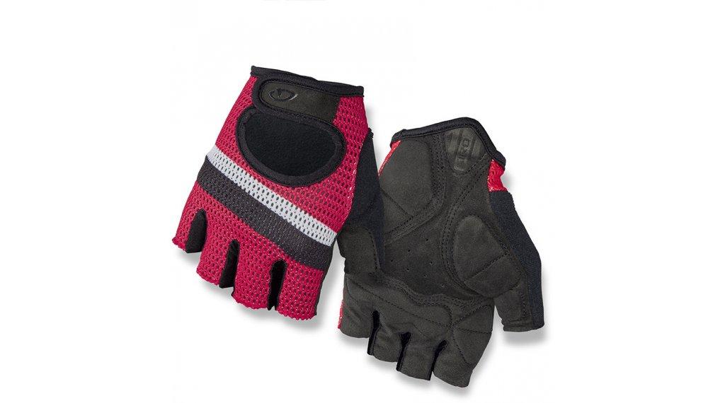 Giro SIV országúti-kesztyű rövid Méret XS bright red/stripe