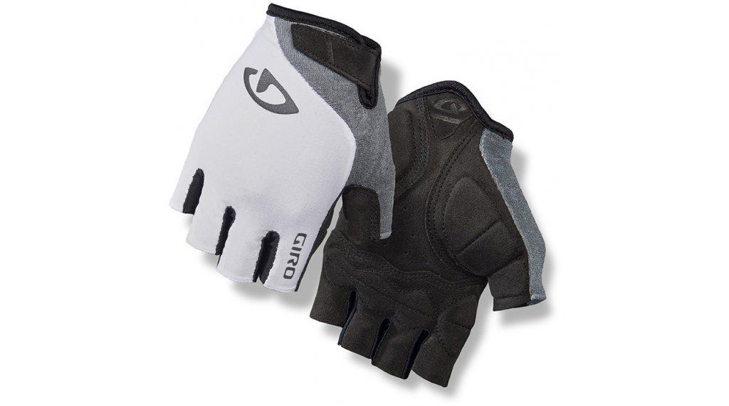 Giro Jagette guantes corto(-a) Señoras tamaño S blanco/titanium
