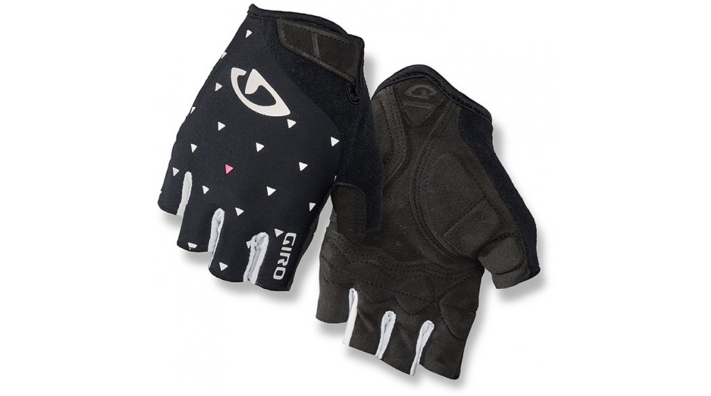 Giro Jagette guantes corto(-a) Señoras tamaño S negro/sharktooth