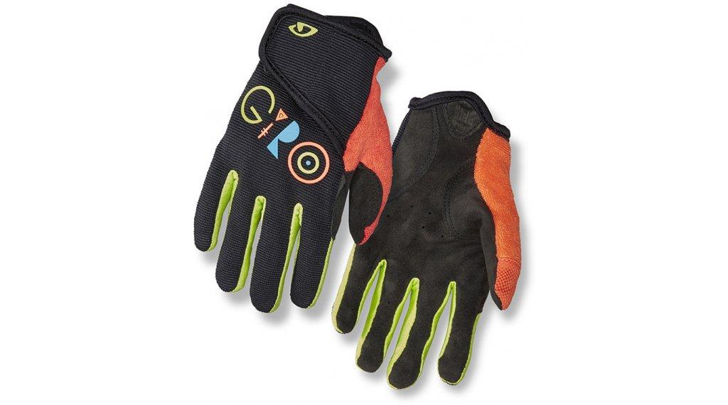 Giro DND Jr II Kinder-Handschuhe lang Gr. XS black multi