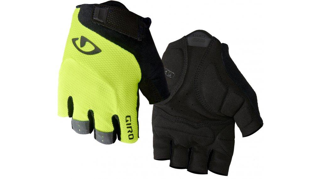 Giro Bravo Gel 手套 短 型号 S highlight yellow