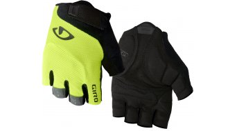 Giro Bravo gel vélo de course- gants court taille highlight yellow Mod. 2019