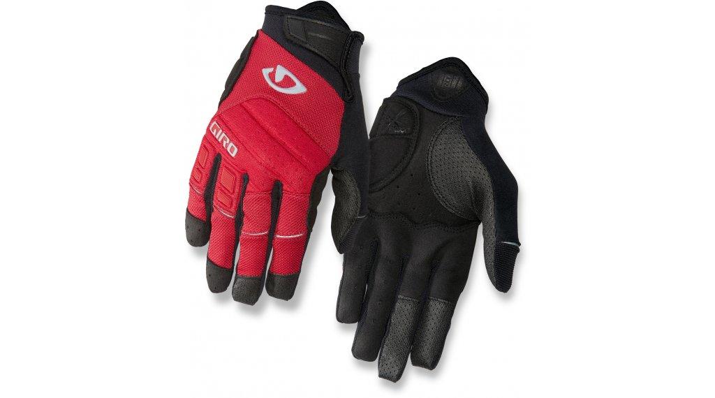 Giro Xen 手套 长 型号 S dark red/black/gray