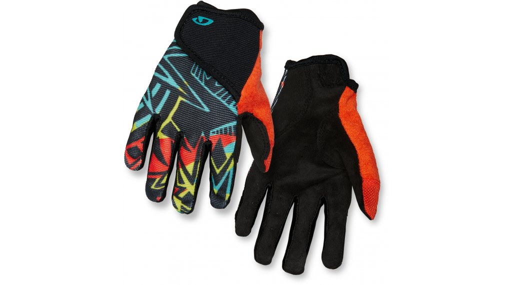 Giro DND Jr II Kinder-Handschuhe lang Gr. XS blast