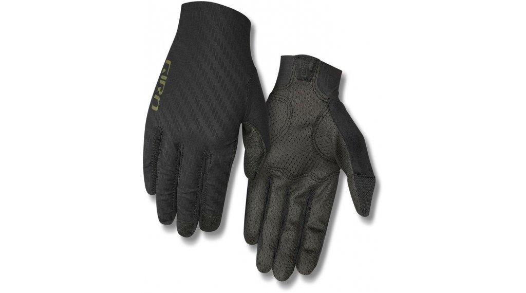 Giro Rivet CS gloves long size S black/olive