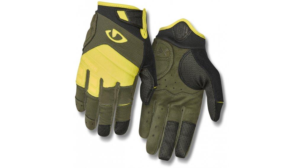 Giro Xen 手套 长 型号 S olive