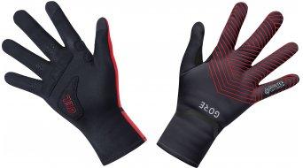 GORE C3 Gore-Tex Infinium Stretch Mid guantes largo(-a) tamaño XXL (10) negro/rojo