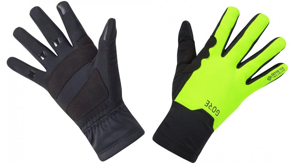GORE Wear GORE-TEX INFINIUM Mid Handschuhe lang Gr. XL (9) black/neon yellow