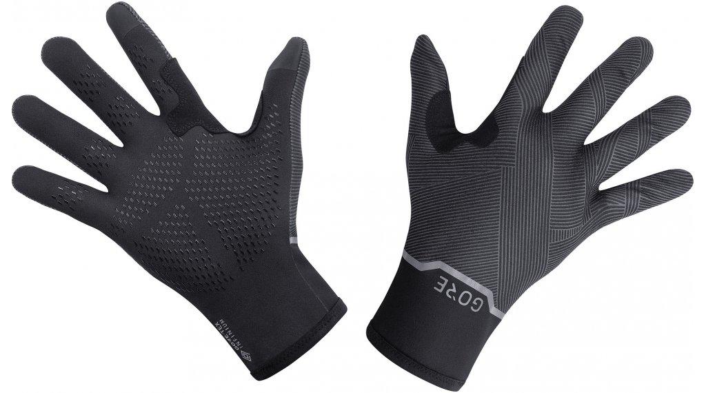 GORE Wear GORE-TEX INFINIUM Stretch Mid Handschuhe lang Gr. S (6) black/terra grey
