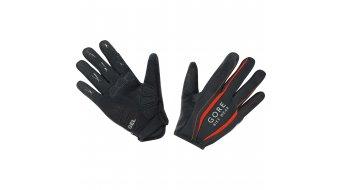 GORE Bike Wear Power guantes largo(-a) bici carretera negro/naranja.com