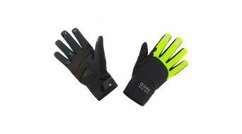 GORE Bike Wear Universal Gore® Windstopper® Thermo guantes largo(-a) color neón amarillo/negro