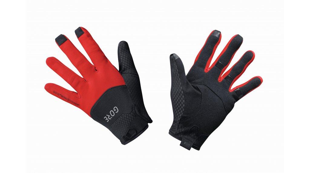 GORE Wear C5 GORE-TEX INFINIUM Handschuhe lang Gr. L (8) black/red