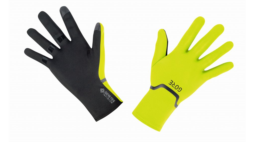 GORE M Gore-Tex Infinium Stretch 手套 长 型号 S (6) neon yellow/black