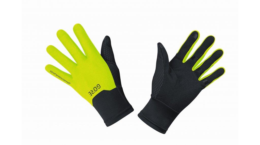 GORE M Gore-Tex Infinium 手套 长 型号 XS (5) black/neon yellow