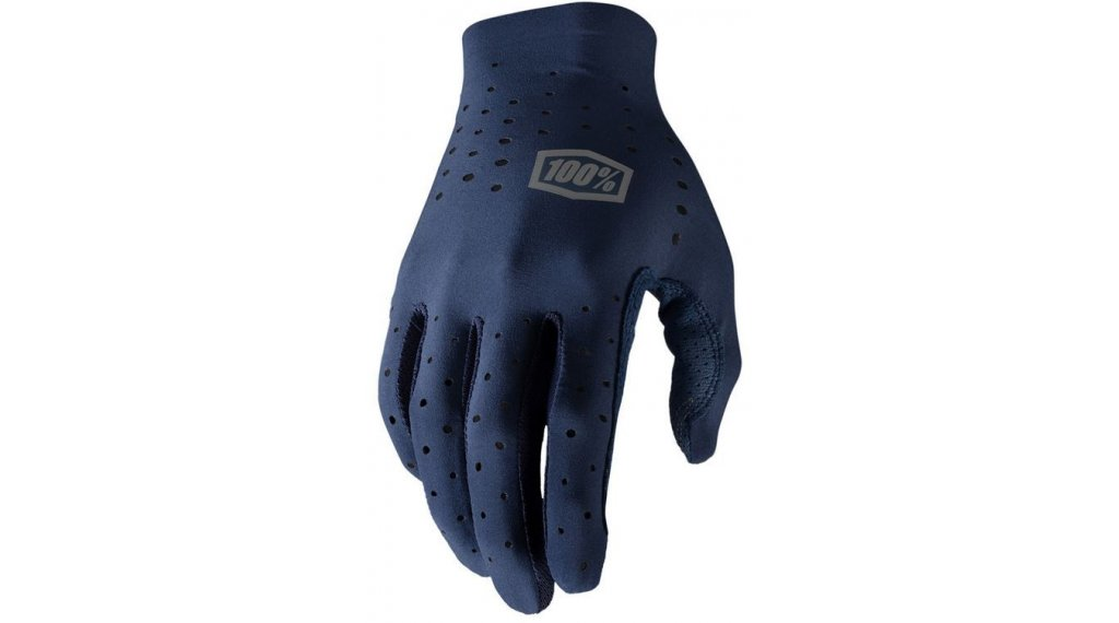 100% Sling Handschuhe Herren lang Gr. S navy