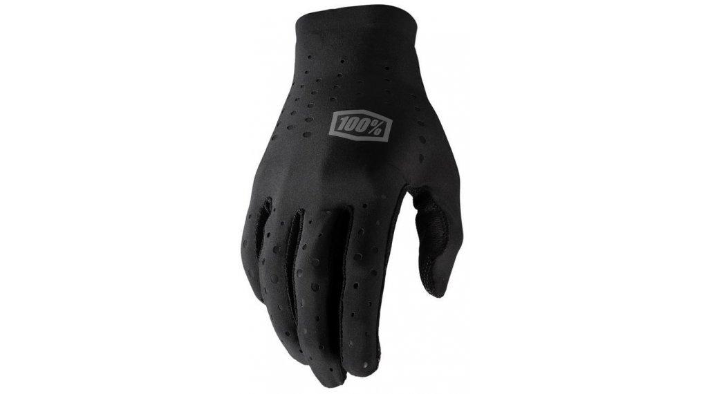 100% Sling Handschuhe Herren lang Gr. S black