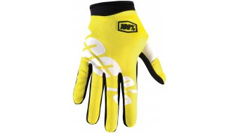 100% iTrack Handschuhe lang Kinder-Handschuhe Youth Gr. S neon yellow