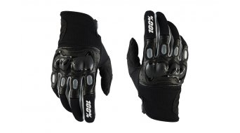 100% Derestricted Dual Sport guantes largo(-a) Downhill-guantes negro/grey