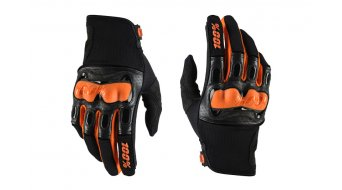 100% Derestricted Discovery Sport Handschuhe lang Downhill-Handschuhe black/orange