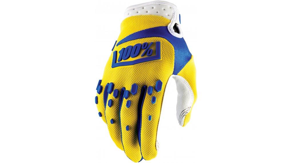 100% Airmatic guantes largo(-a) Downhill-guantes tamaño S amarillo