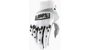 100% Airmatic guantes largo(-a) Downhill-guantes tamaño S blanco/negro