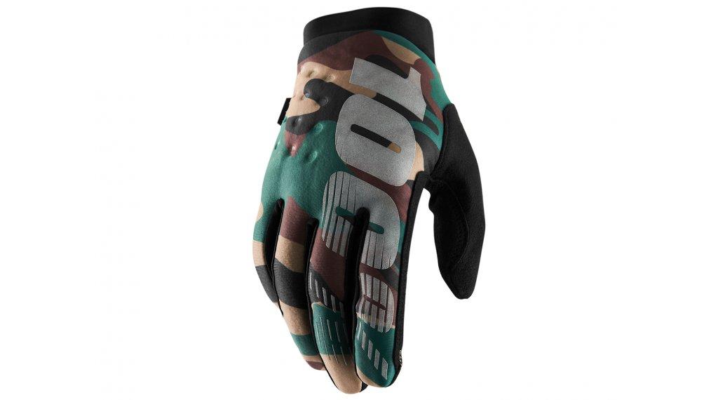 100% Brisker Cold Weather guanti dita-lunghe guanti-MTB mis. S camo black