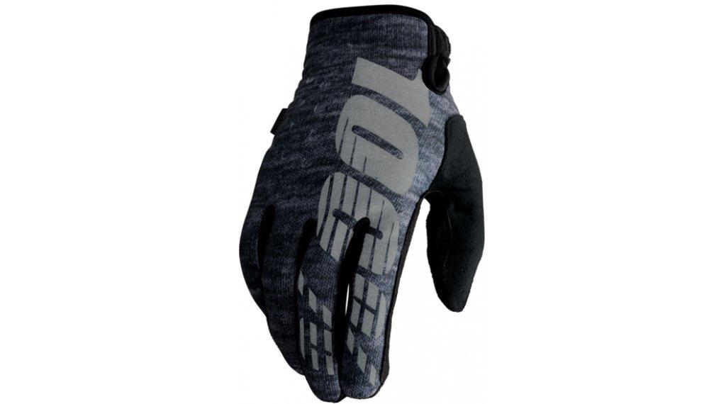 100% Brisker Cold Weather 手套 长 MTB(山地)-手套 型号 S heather grey