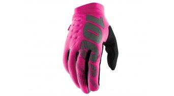 100% Brisker Cold Weather Handschuhe lang Damen pink/black