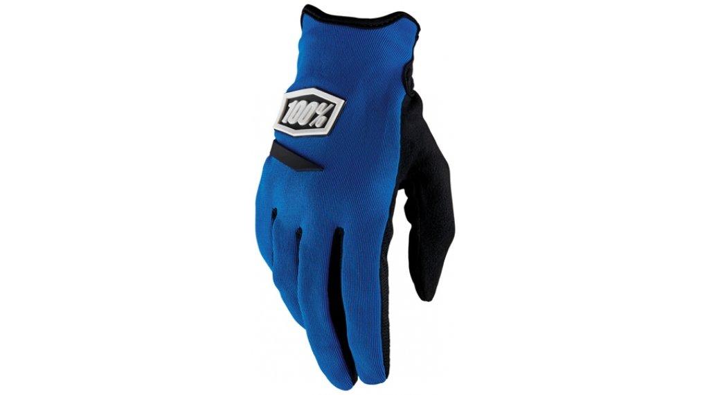 100% Ridecamp Handschuhe lang Damen-Handschuhe Gr. S blue