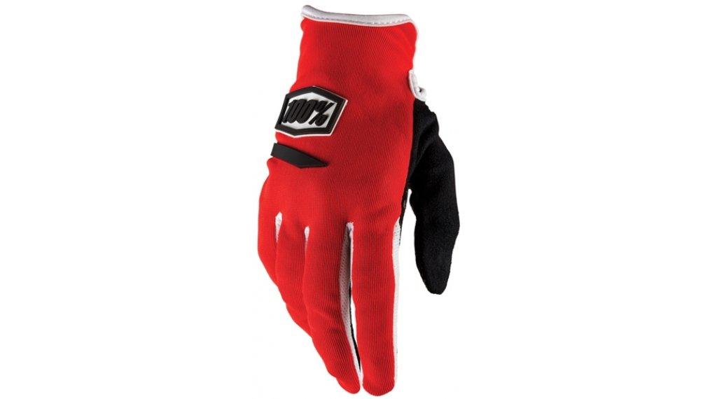 100% Ridecamp Handschuhe lang Damen-Handschuhe  Gr. XXL red