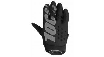100% Brisker Cold Weather Handschuhe lang Kinder-Handschuhe Gr. L black/grey