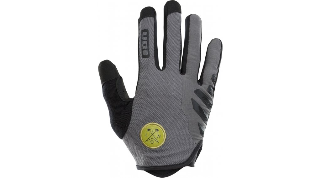 ION Scrub AMP Handschuhe lang Gr. S grey