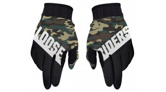 Loose Riders Camo rukavice green/camo