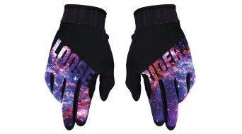 Loose Riders Kosmic Handschuhe lang Gr. S black/purple