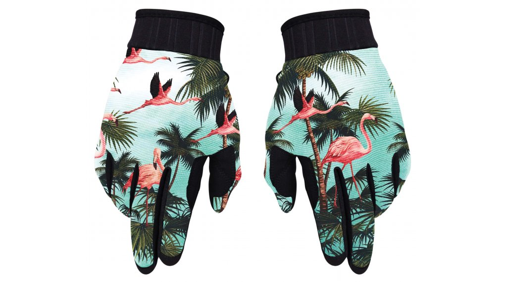 Loose Riders Miami Handschuhe lang Gr. S turquise/pink