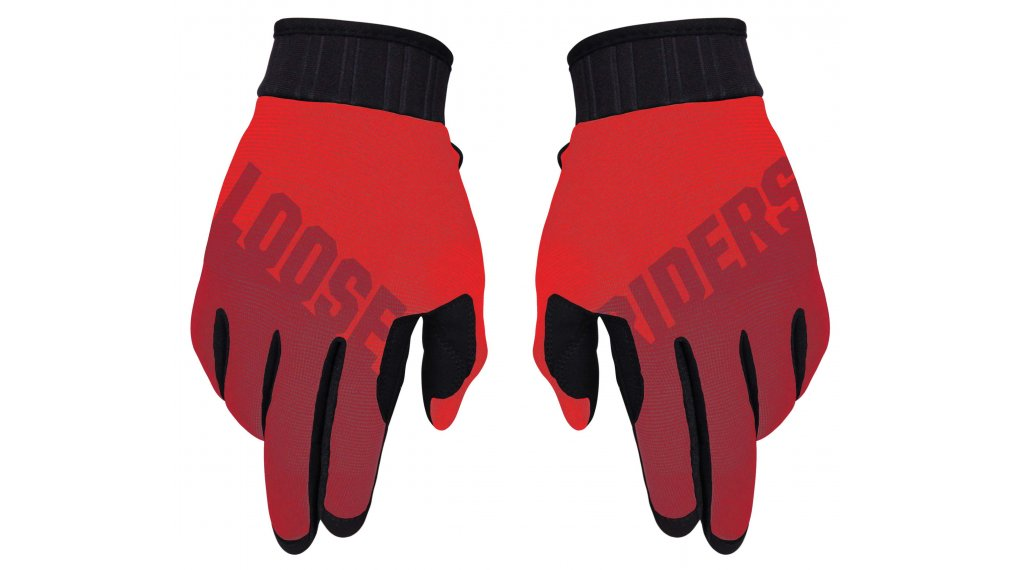 Loose Riders Red Handschuhe lang Gr. S red