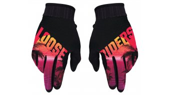 Loose Riders Synth Handschuhe lang red/black