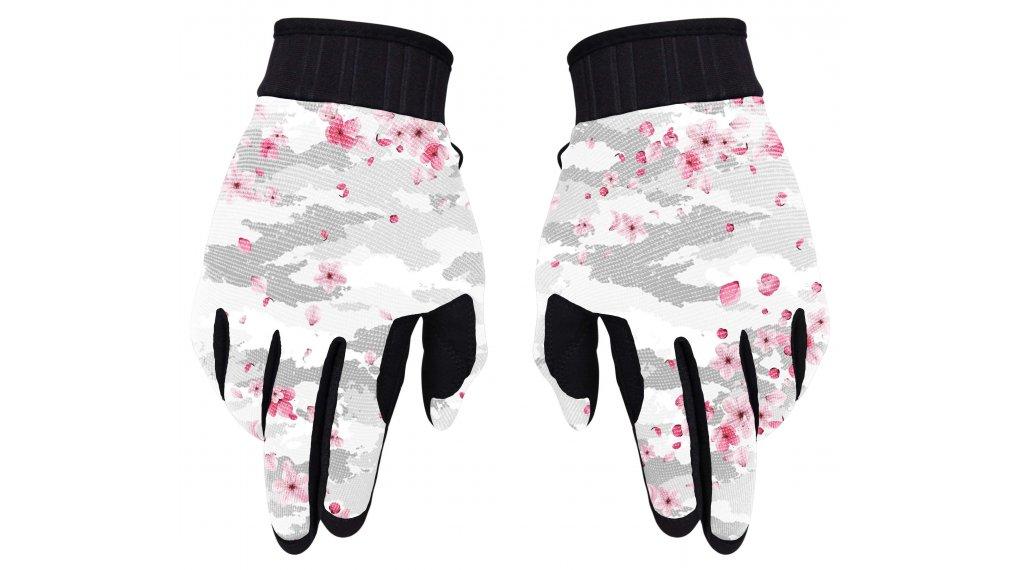 Loose Riders Sakura Handschuhe Damen lang Gr. S grey/pink