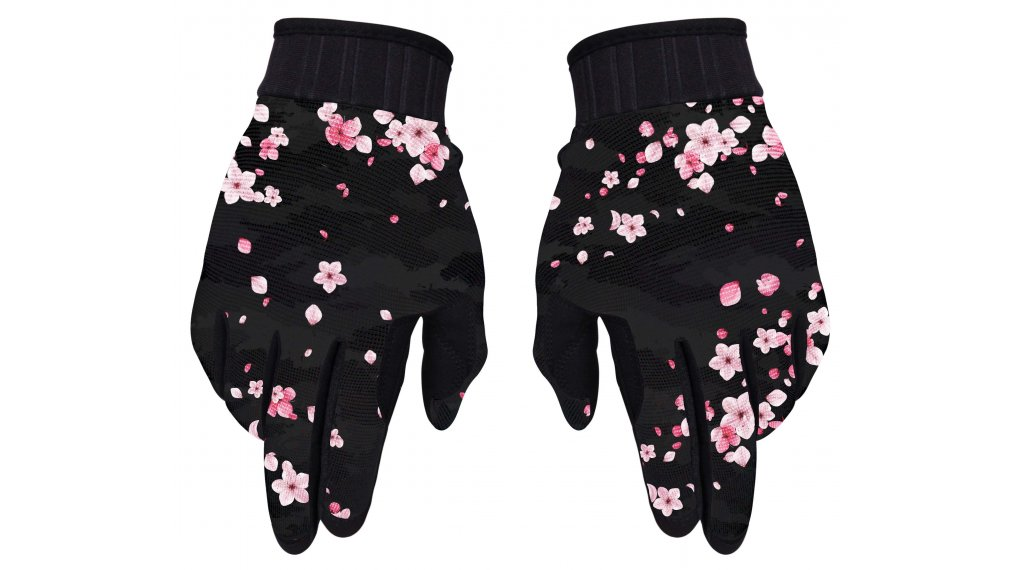Loose Riders Sakura Handschuhe Damen lang Gr. S black/pink