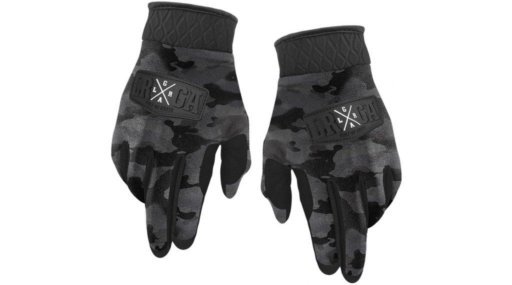 Loose Riders Charcoal Camo Winter MTB-Handschuhe Gr. S dark grey/black