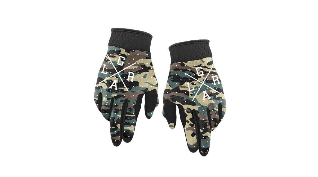 Loose Riders Camo Dots Winter MTB-Handschuhe Gr. S green/brown
