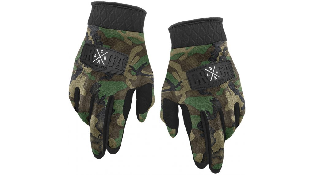 Loose Riders Forest Camo Winter MTB-Handschuhe Gr. S green/brown