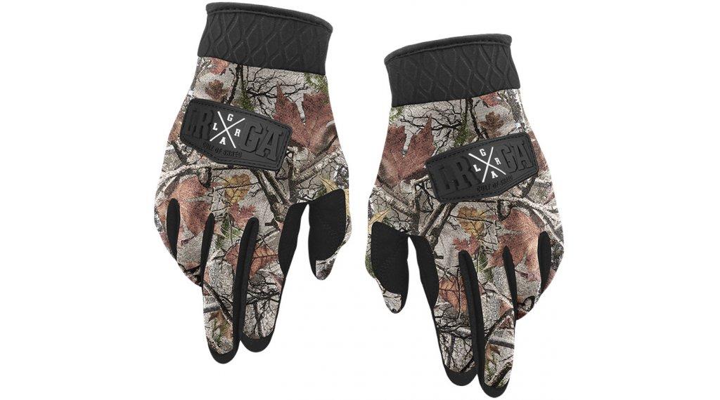 Loose Riders Foliage Camo Winter MTB-Handschuhe Gr. S brown/white