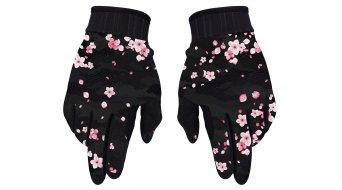 Loose Riders Sakura guanti dita-lunghe da donna . nero/rosa