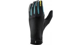 Mavic Aksium thermo gloves long black/moorea blue