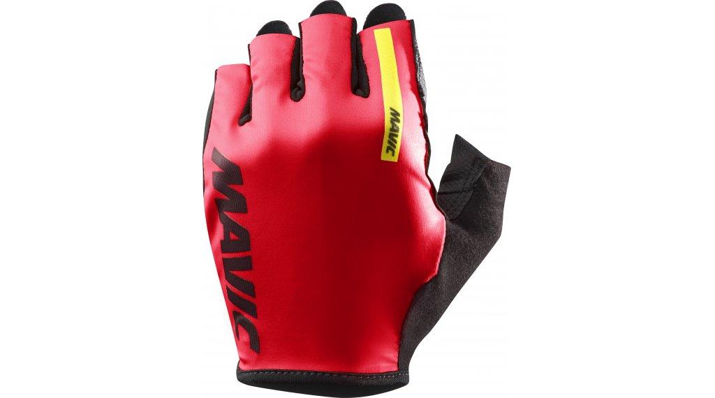 Mavic Cosmic krátké rukavice velikost S fiery red