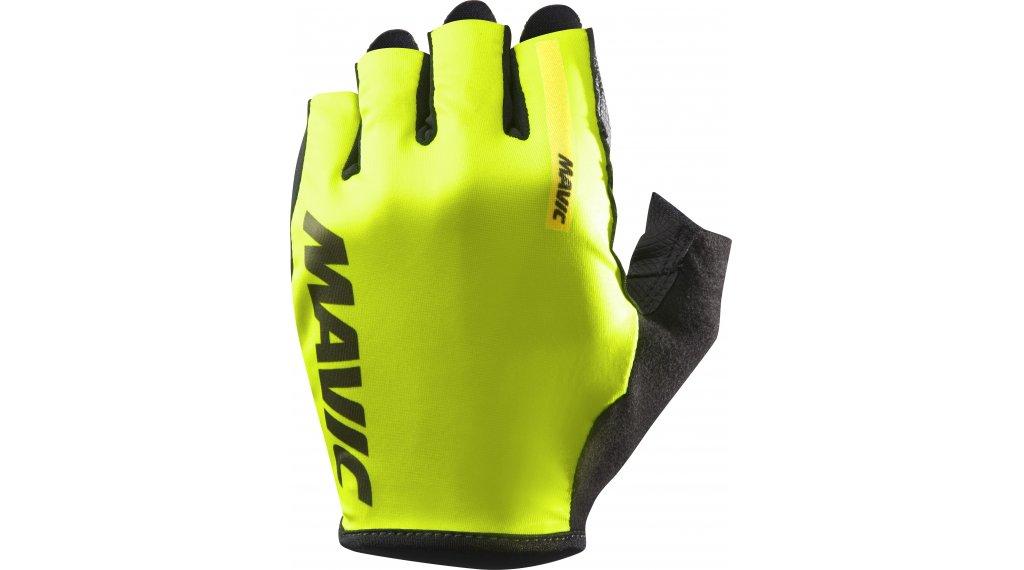 Mavic Cosmic krátké rukavice velikost S safety yellow