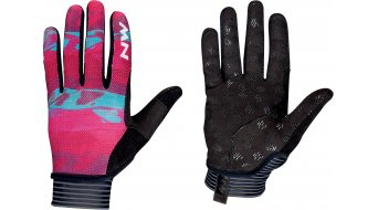 Northwave Air LF Handschuhe lang Damen Gr. L beetroot/green